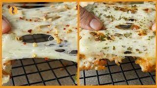 Bread Pizza and Chicken Chilli Toast Recipe By Food Fusion