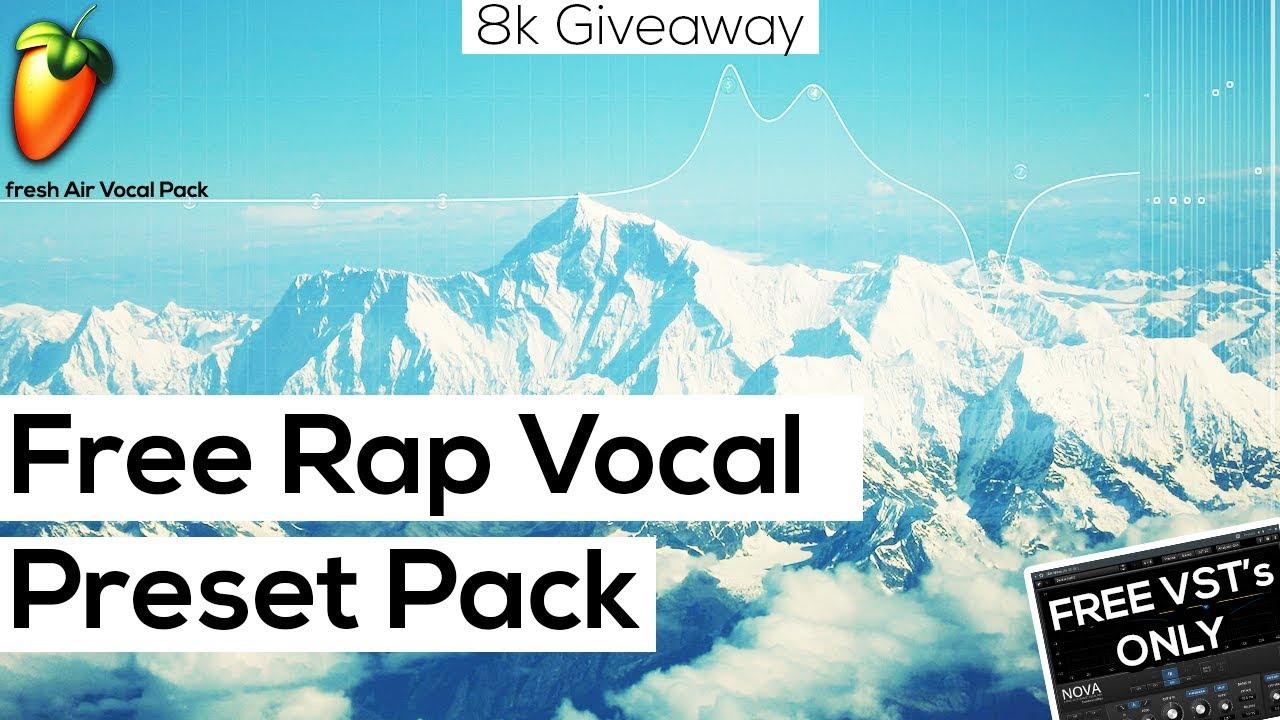 Free FL Studio 20 Vocal Presets (8k Fresh Air Vocal Pack) 🌊🍃