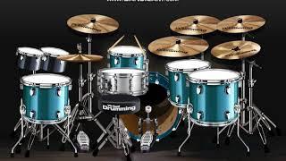 Atmosfera-Tak Tahu Malu (virtual drumming cover)
