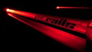 Red Glo Rails