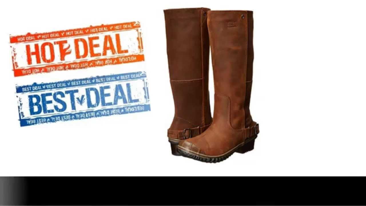2e98e3fb14e SOREL Slimboot Nutmeg Coffee Bean Boot Best Price Online Deal