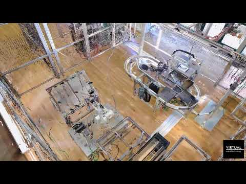 Industrial 3D scanning of the smart factory
