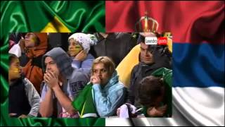 Brazil-Srbija Gol Maksimovica (engleski, ruski, brazilski, ekvadorski i srpski komentatori)