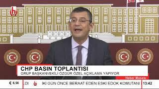 Özgür Özel yine kürsüde: Erdoğan'ın o açıklamalarına çok sert tepki