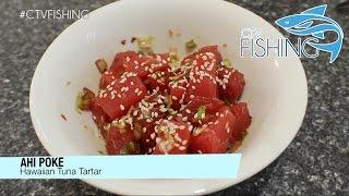 Ahi Poke (Hawaiian Tuna Tartar) - CTV Fishing - Catch & Cook