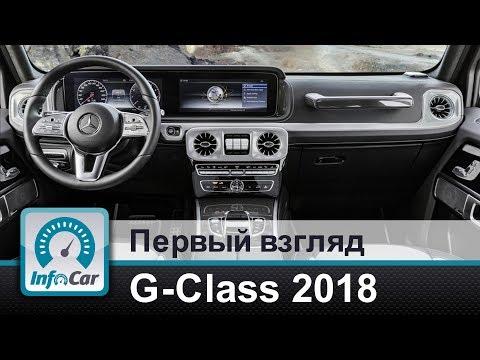 G Class 2018 первый взгляд вовнутрь