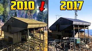 NEW GTA 5 BETA SCREENSHOTS - HOW MUCH DIFFERENT THE GAME LOOKED THEN VS NOW