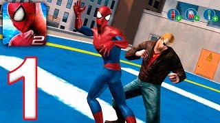 The Amazing Spider-man 2 - Walkthrough Gameplay Part 1  Android Ios