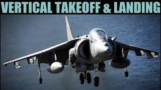AV-8B Harrier: Learning VTOL Vertical Takeoff & Landing | DCS WORLD