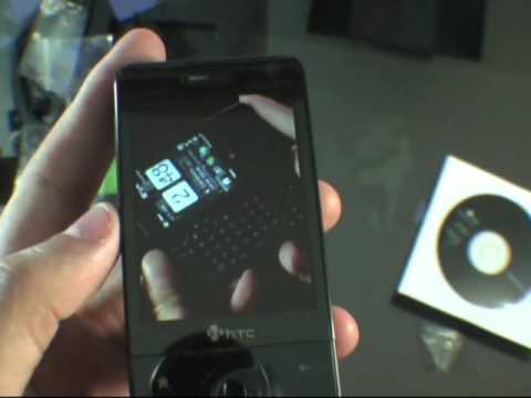 UNBOXING Smartphone PPC-PE HTC Touch Pro T7272 AKA HTC Raphael