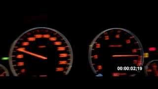 Разгон (0-100) BMW 550i GT (F07) [4,4; 408hp)