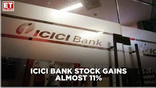 ICICI Bank stock gains almost 11% on the back of strong Q2 results