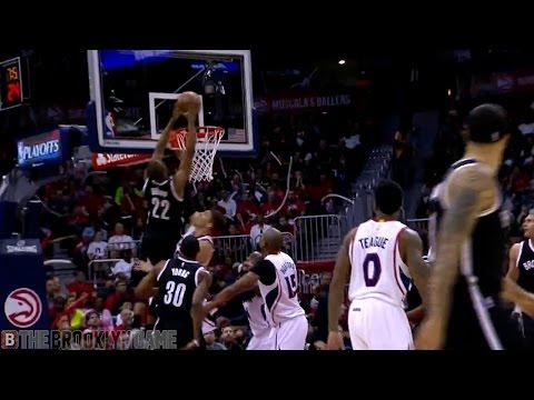 Markel Brown Elevates for Big Put-back Slam | Nets vs Hawks - Playoffs