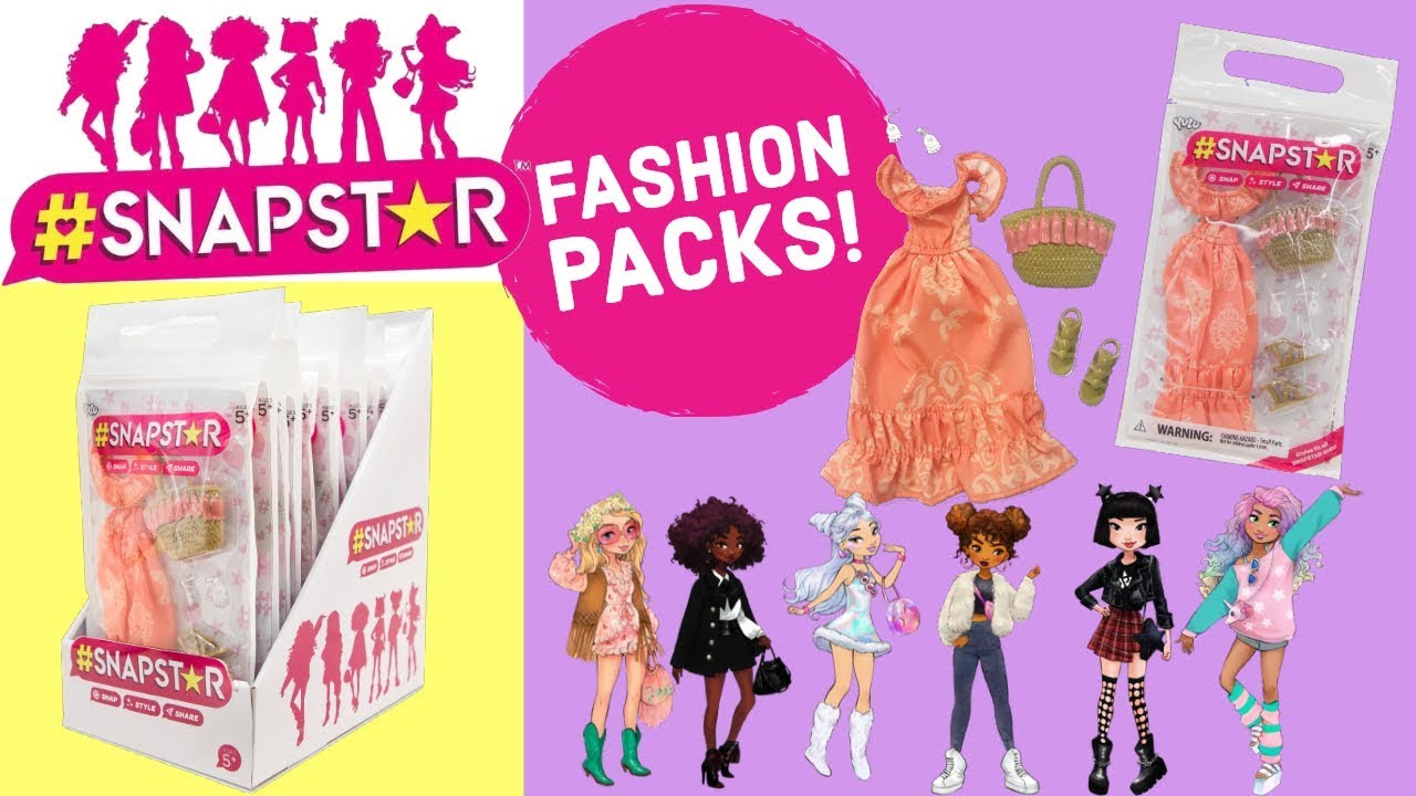 SNAPSTAR Dolls Accessories Pack Outfit Clothes NEW 2020