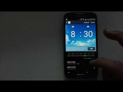 Android Phones: How to Set Alarm with Music or Personal AudioRecording