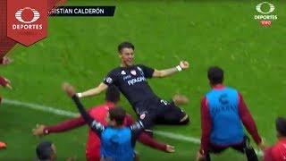 Doblete de Calderón | América 1 - 3 Necaxa | Clausura 2019 - Jornada 1 | Televisa Deportes