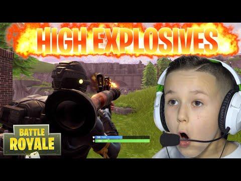 NEW FORTNITE HIGH EXPLOSIVES GAME MODE!