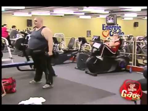 Broma gordo en el gym youtube for El gimnasio