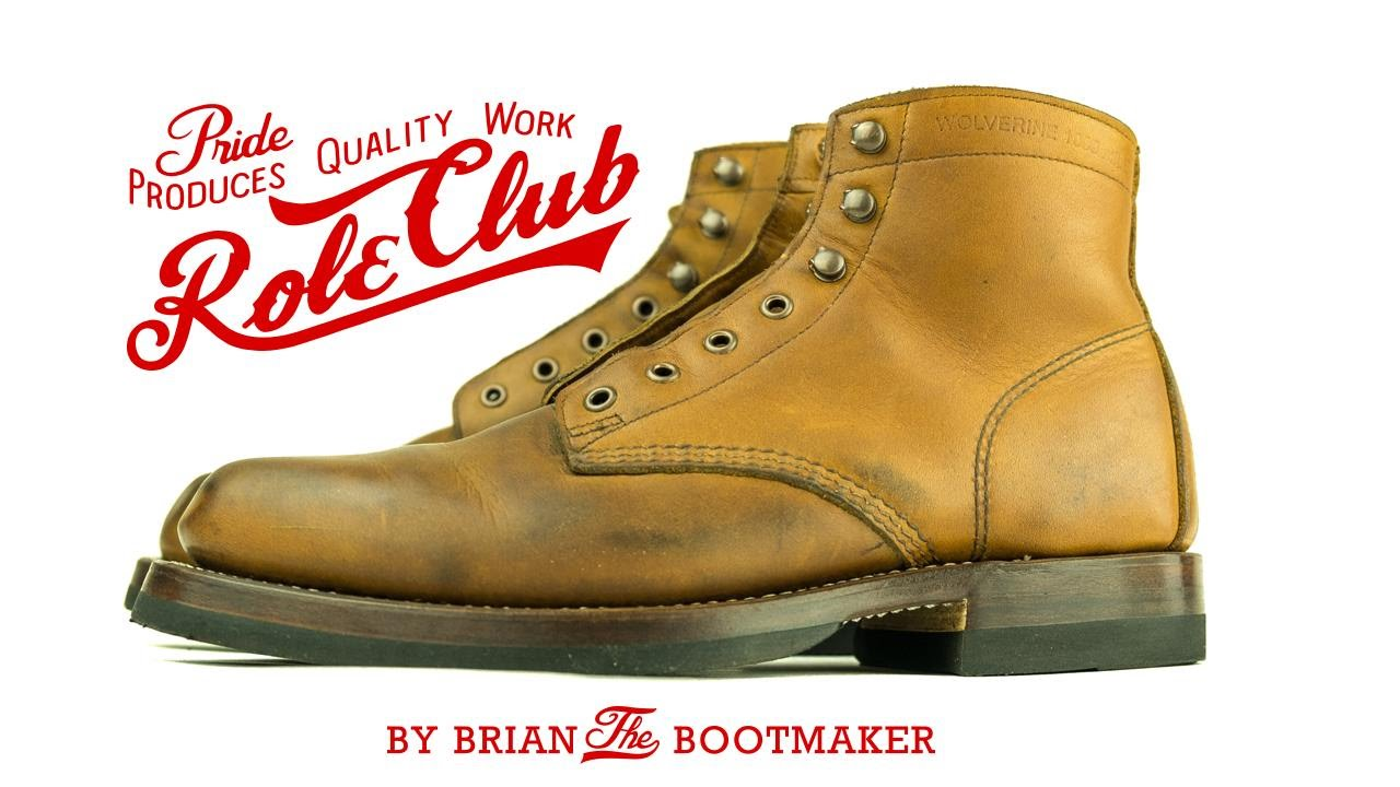 ab5d2bab240 Wolverine 1000 Mile Boots Resole #7