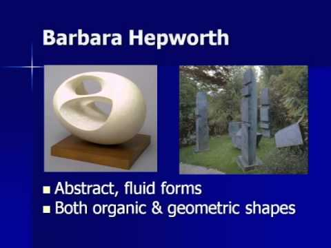 ARTH 4117 20th Century 8:  Barbara Hepworth