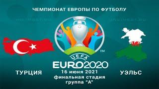 Турция Уэльс 16 06 21 прогнозы на матч второго тура групповой стадии Чемпионата Европы 2020