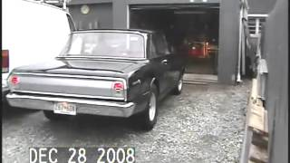 dad taking his 64 ChevyII sedan out for a ride
