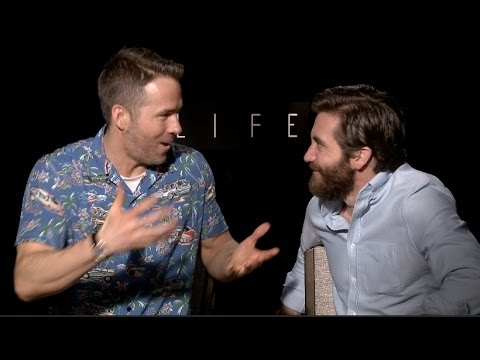 Ryan Reynolds & Jake Gyllenhaal interview goes off the rails - FUNNY
