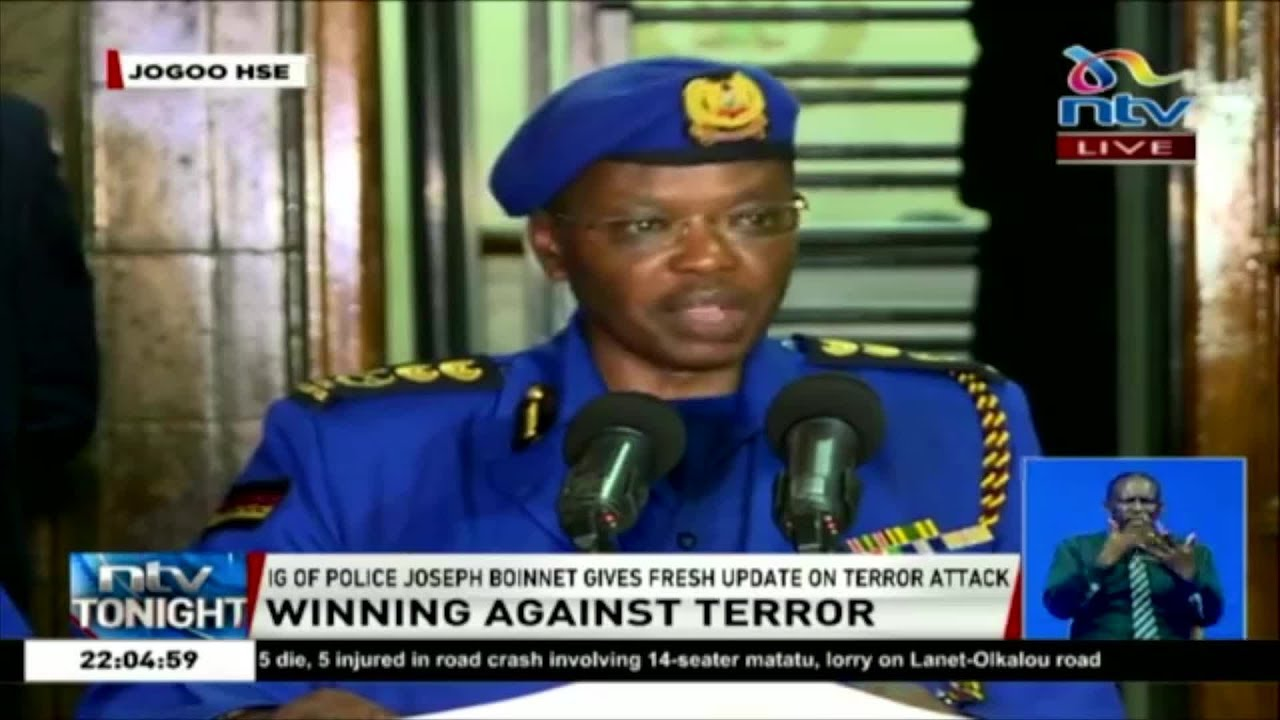 IG of Police Boinnet latest press briefing on Riverside Drive attack