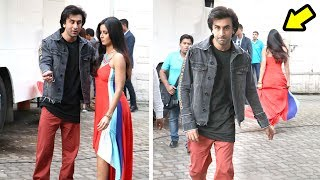 Ranbir Katrina AWKWARD Moments At Jagga Jasoos Movie Promotions