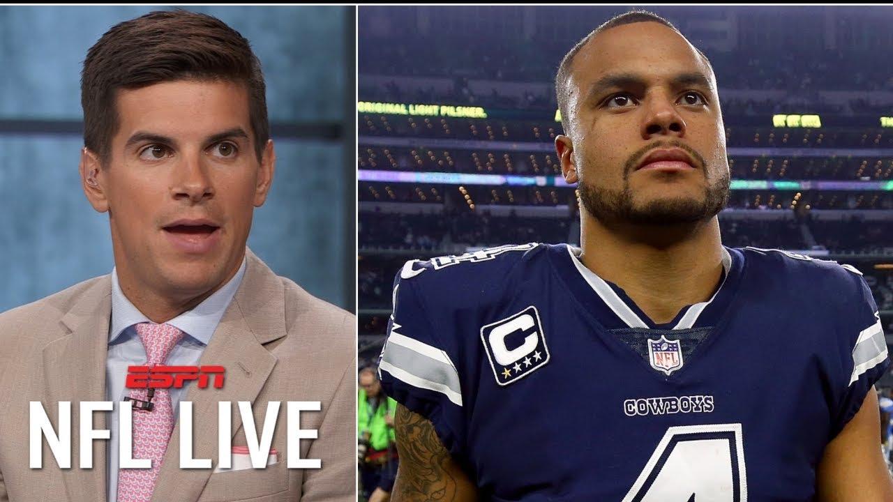 half off bf15b bf41f Dak Prescott has to be the Cowboys' contract priority over Ezekiel Elliott  - Field Yates | NFL Live