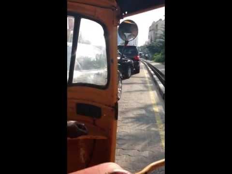 Yellow cab ride - Lagos style