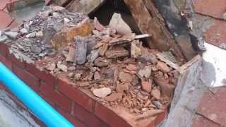 Brick Chimney Removal