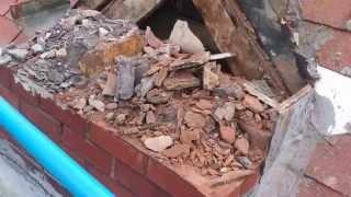 Brick Chimney Removal