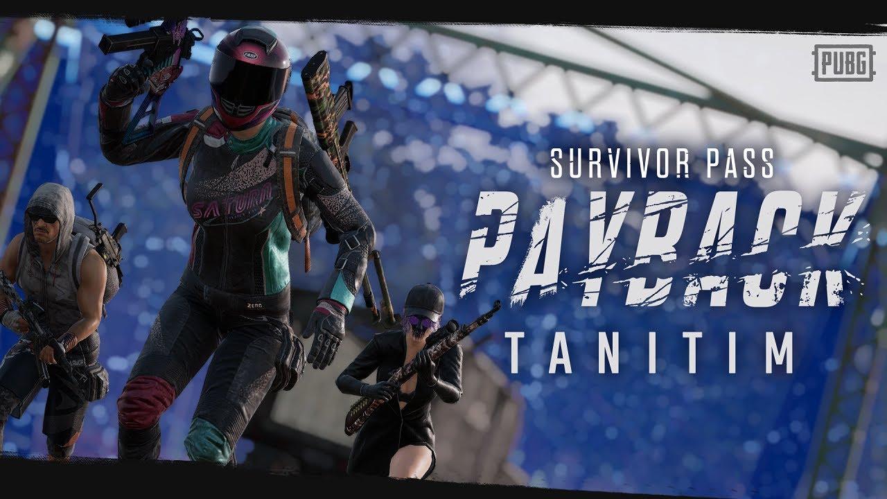Survivor Pass: PAYBACK Tanıtım   PUBG
