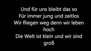 Mark Forster Wir sind Gross Lyrics