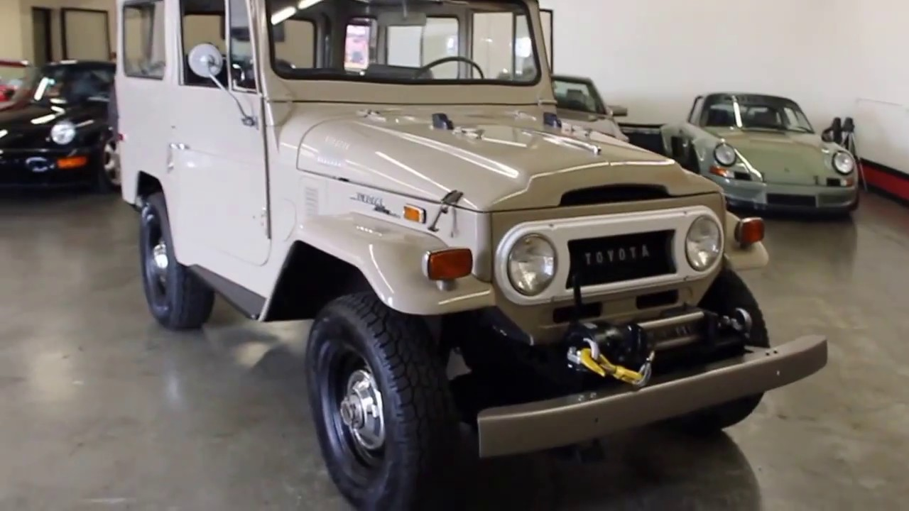 1970 toyota fj40 land cruiser for sale at gt auto lounge youtube. Black Bedroom Furniture Sets. Home Design Ideas