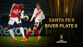Independiente Santa Fe vs. River Plate [0-0]   RESUMEN   Fecha 3   CONMEBOL Libertadores 2021