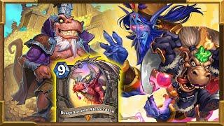 Hearthstone: Highlander Galakrond, Dragonqueen Alexstrasza, Togwaggle, Zephrys Rogue | Always Good!