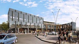 видео Фасады для торговых центров: лучшие решения