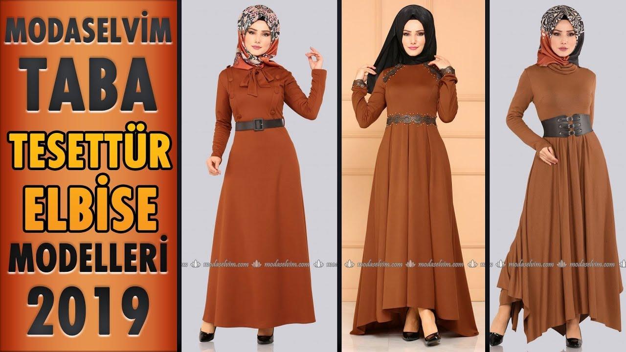 b6e2159c2d1c1 #Modaselvim Taba #Tesettür Elbise Modelleri 2019 | #Hijab #Dress | #elbise  #taba