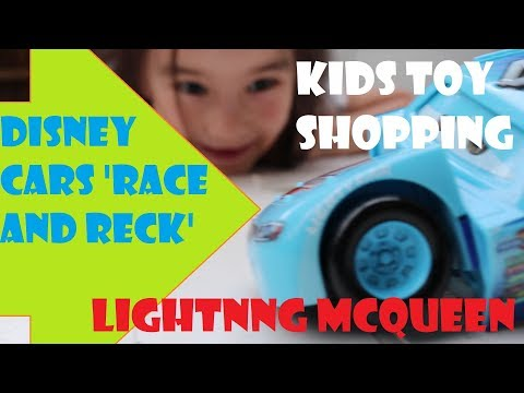 Goodbye Toys R Us | Kids Toy Shopping | Play With Disney Cars Race And Reck
