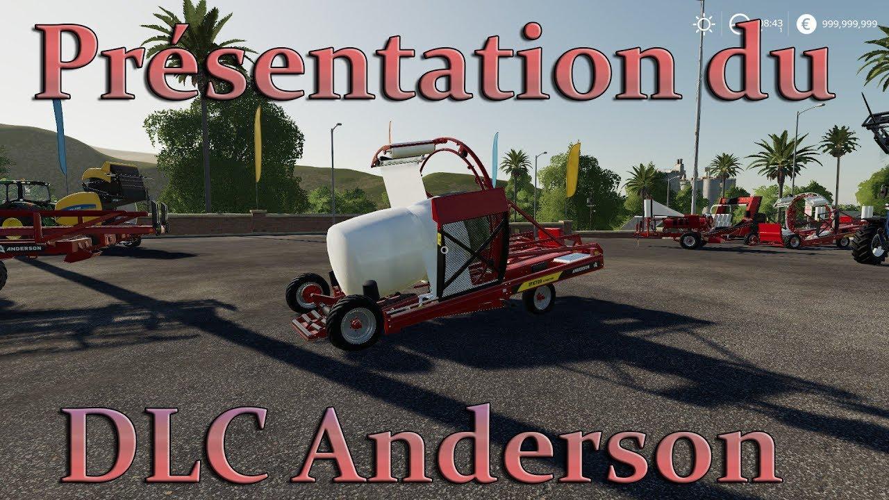 FS19 / Présentation du DLC Anderson