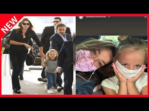 ✅ Carla Bruni en virée avec sa fille Giulia: un duo attendrissant