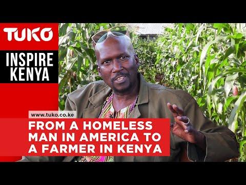 He was homeless in America, now he owns 20 acres organic farm in Kenya | Inspire Kenya | Tuko TV