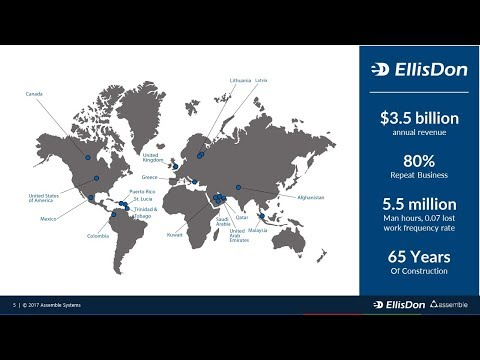 EllisDon & Assemble Improve Pharma Projects Together!