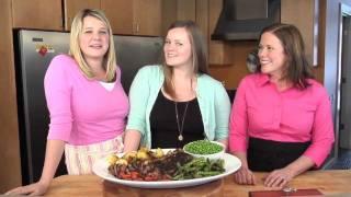 Roast Lamb Feast: Butterflied Leg Of Lamb With Garlic And Rosemary
