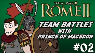 Total War Rome 2 - Online Battle w/Prince of Macedon! #02