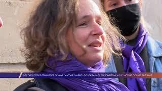 Yvelines | Mobilisation à Versailles pour Julie, victime de viol présumé par des pompiers