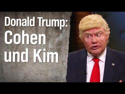Christian Ehring im Gespräch mit Donald Trump: Cohen-Aussage und Kim Jong-un | extra 3 | NDR