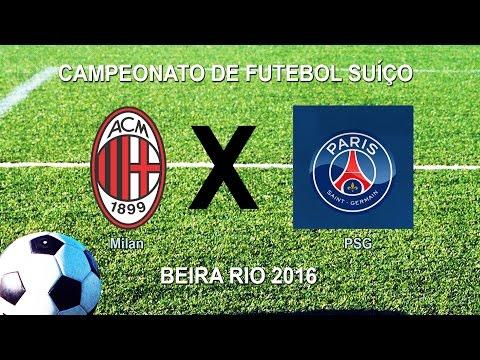 Camp Beira Rio 5ª RODADA - MILAN 4 X 4 PSG